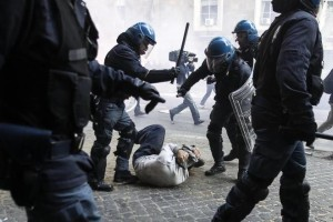 scontri-roma1