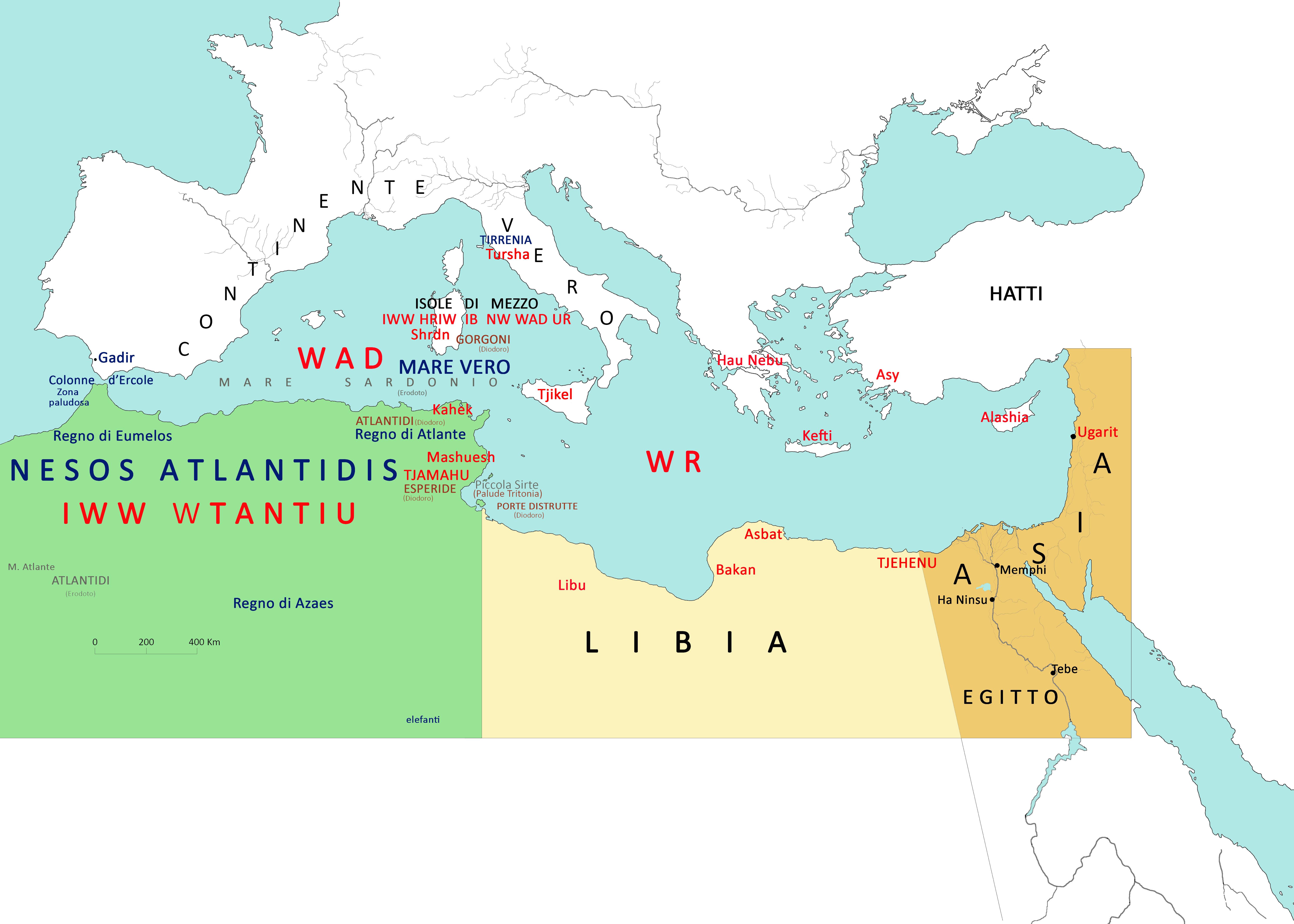 L\'Isola del continente: L\'Atlantide tra fantasia e storia (2) [di ...