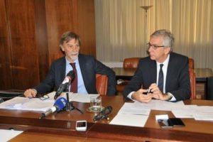 Delrio Pigliaru conferenza stampa Cagliari