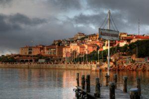 Porto Cervo Hafen