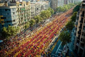 Con il popolo catalano, per il diritto all'autodeterminazione [di Stefano Puddu Crespellani]