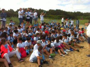 Studenti Arzachena puliscono spiaggia