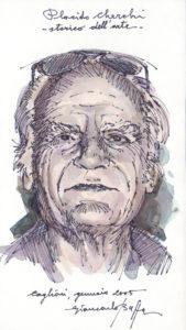 Giancarlo Buffa, Ritratto di Placido Cherchi, Cagliari 2005