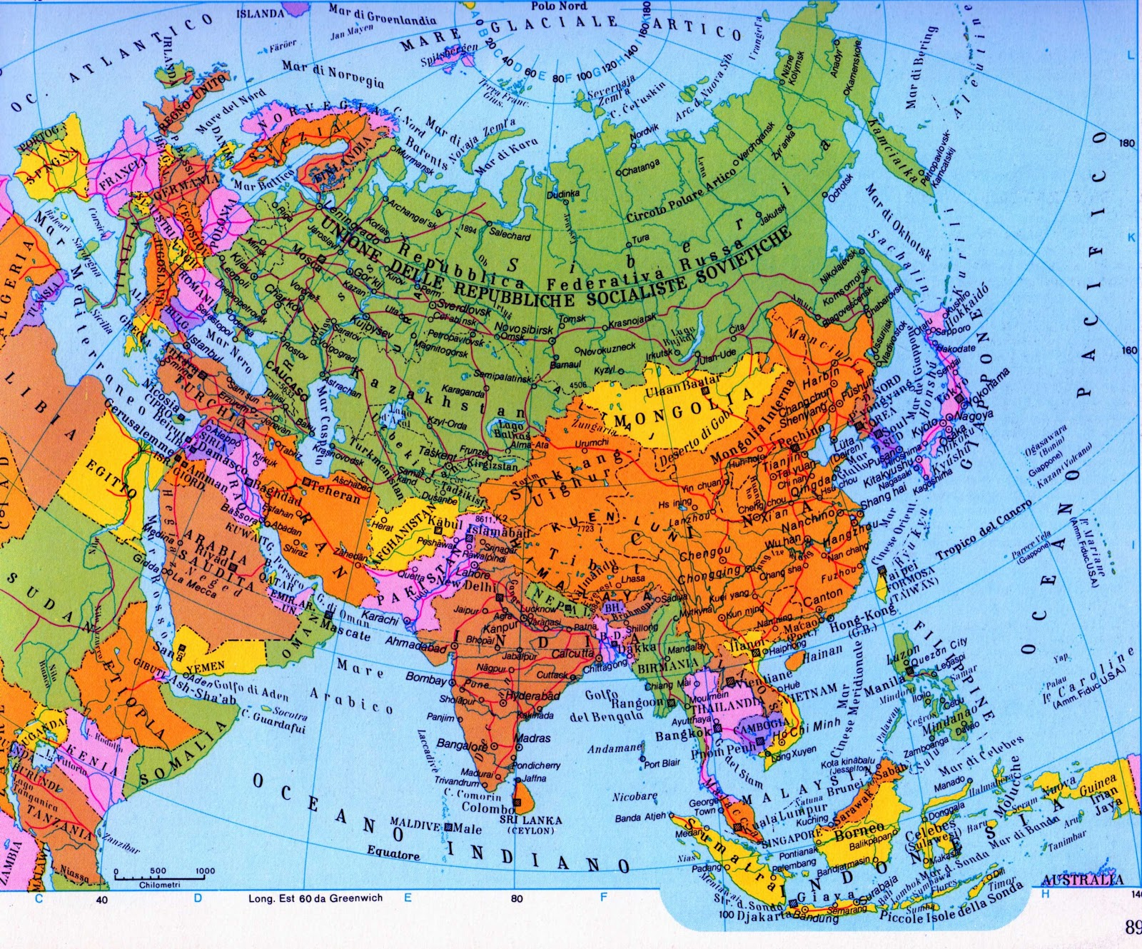Europa E Asia Cartina.Quello Che Pechino Potrebbe Imparare Dalla Storia Di